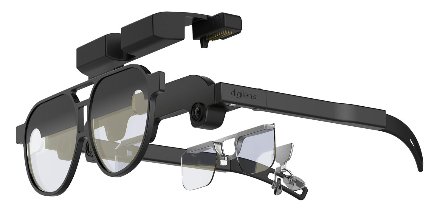 DigiLens Forges Reference Design for Smartglasses with 50 Degree Field of View