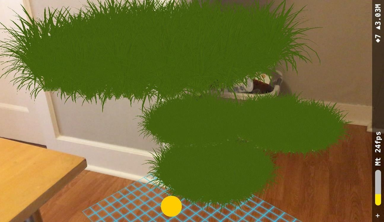 ARKit 101: How to Place Grass on the Ground Using Plane Detection