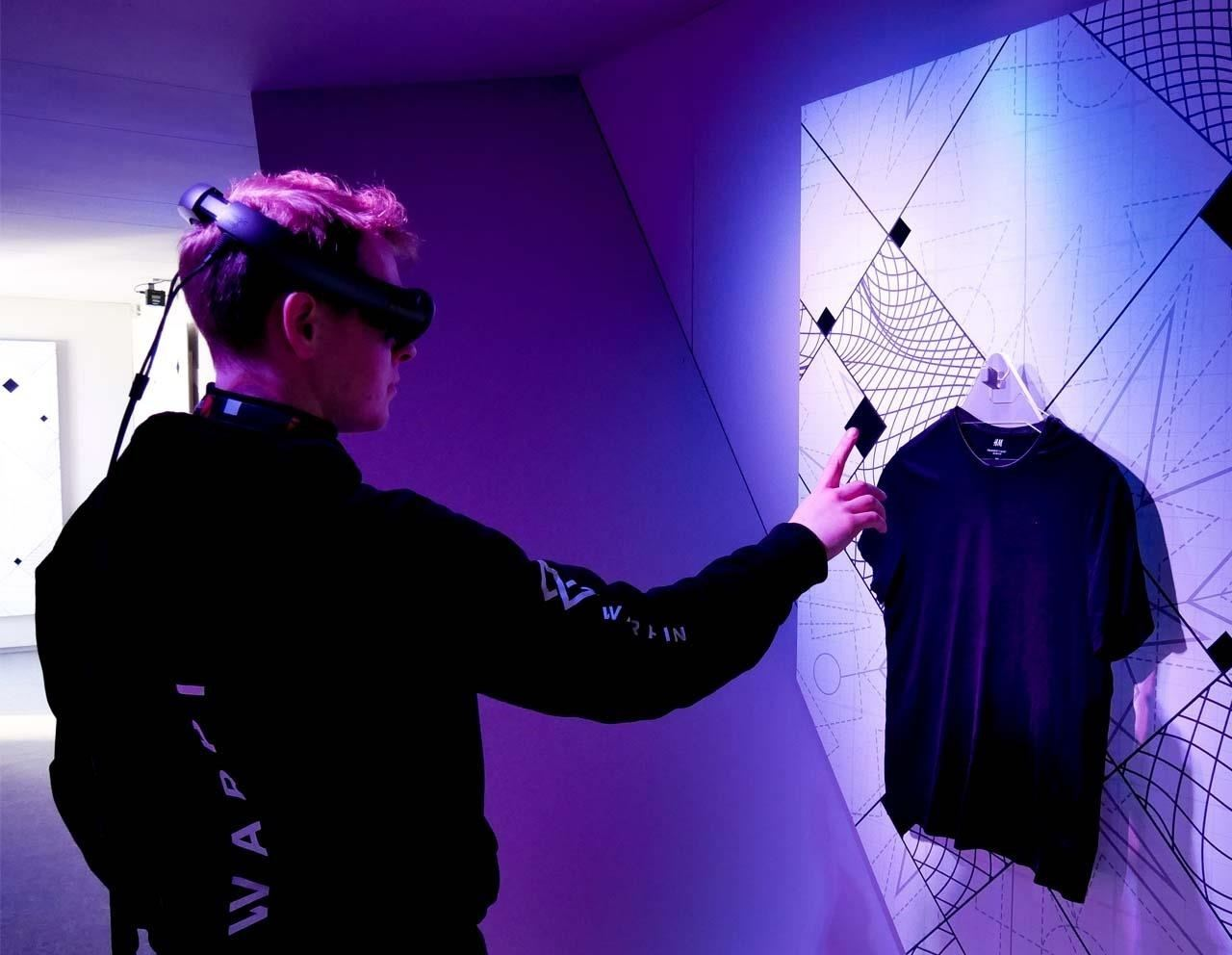 Magic Leap Used to bring AR to H&M & Star Wars Fashion Collaboration in Tokyo Developed by Warpin Media