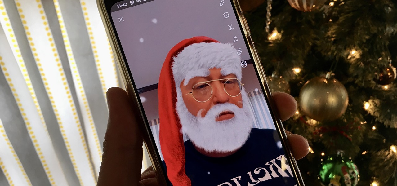 Snapchat Delivers Augmented Reality Gifts with New Holiday AR Lenses