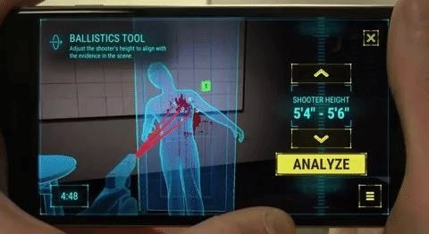 Follow in the Footsteps of Forensic Detectives & Solve Crimes with Oxygen's Augmented Reality App
