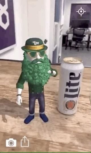 . Miller Lite & Trigger Global Make St. Patrick's Day an Augmented Reality Celebration