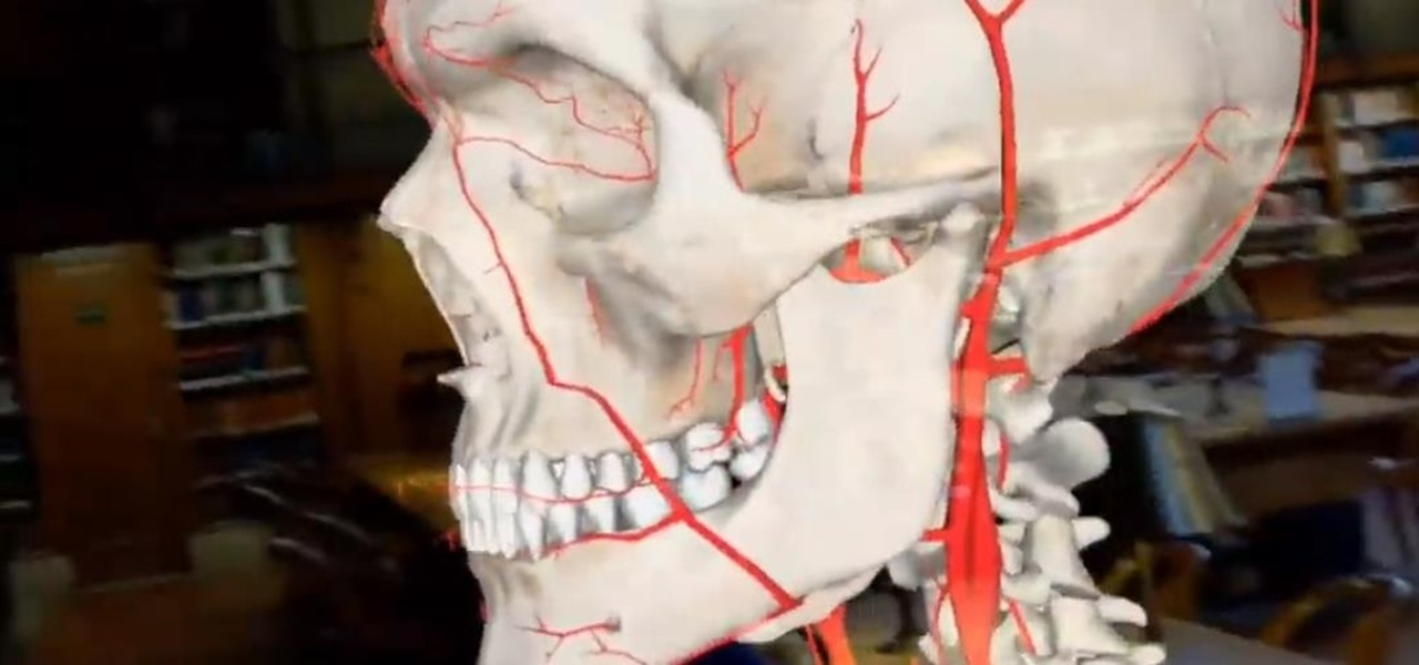 Medivis App for Magic Leap One & HoloLens Lets You Study the Human Anatomy in Augmented Reality