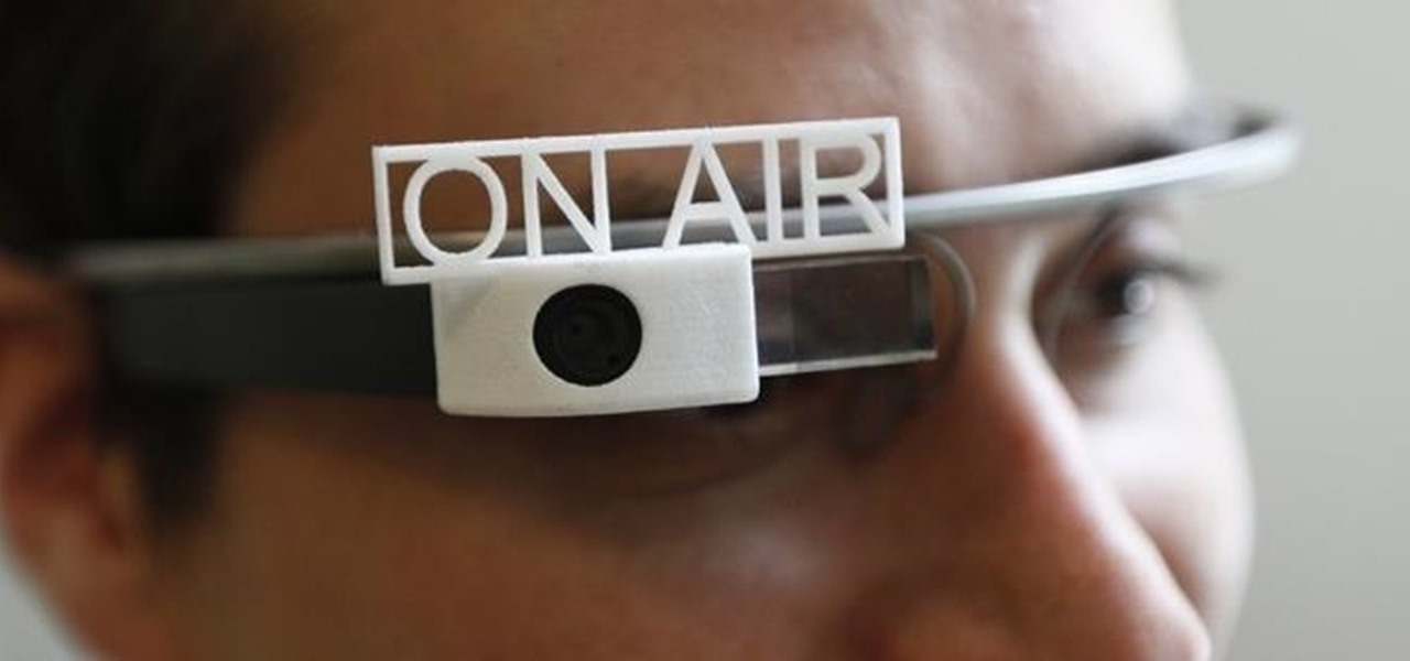 3D Printed Accessories for Google Glass