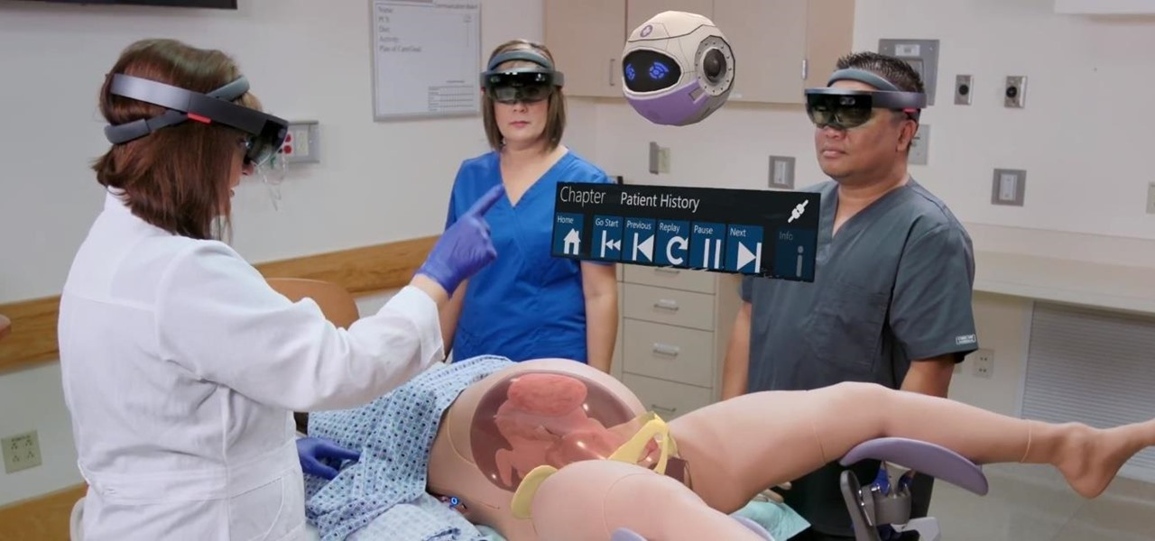 HoloLens Can Now Simulate Childbirth to Train Medical Students