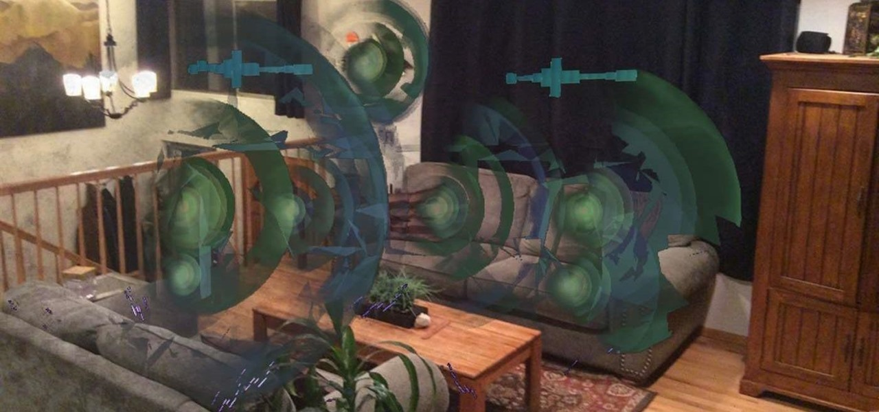Synesthesia Adds Trippy Sound Visualization to the HoloLens