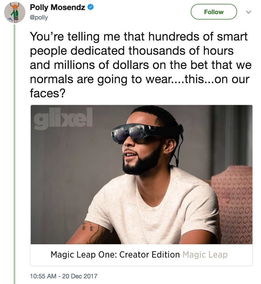 After Years of Being Teased, Here's How the World Is Reacting to the Magic Leap One Reveal