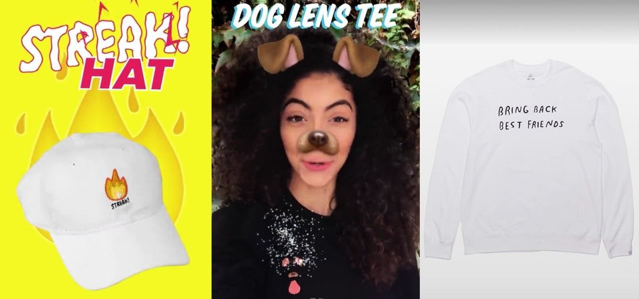 Snapchat Launches In-App Store with 'World's First AR Superstar' Hot Dog Toy & Other Swag