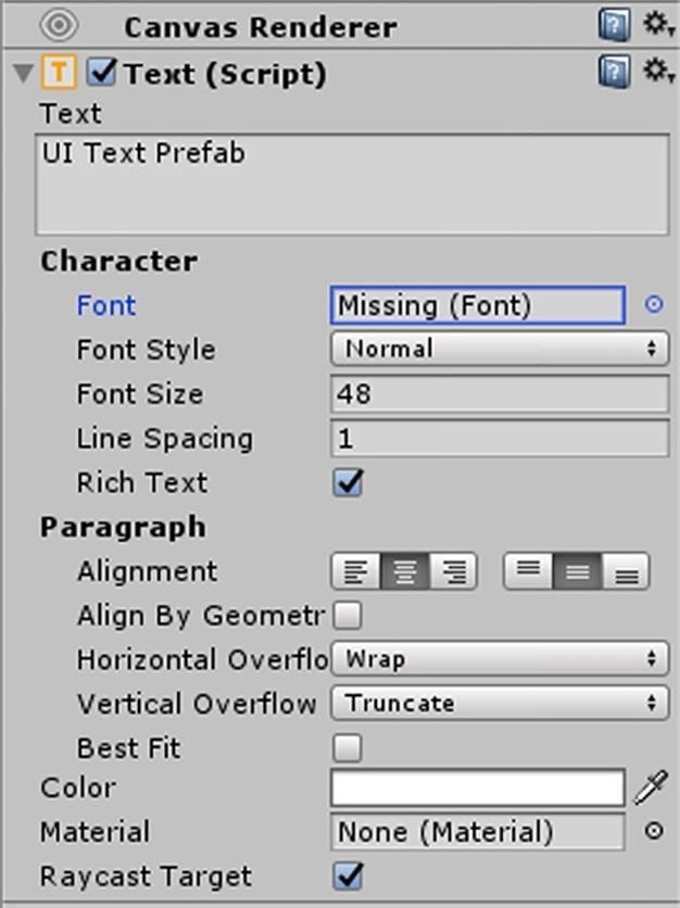 HoloToolkit: Make Words You Can See in Unity with Typography Prefabs