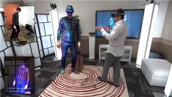 Microsoft HoloLens Makes Virtual Teleportation a Reality