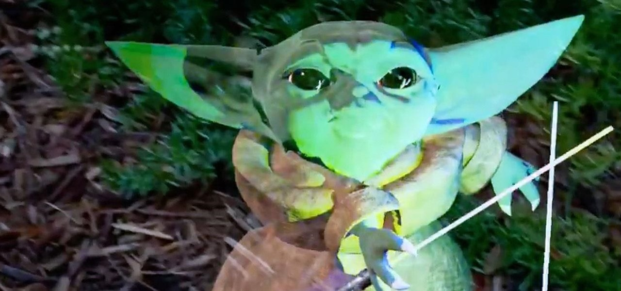 Star Wars Baby Yoda Unofficially Comes to Magic Leap via This Developer Experiment