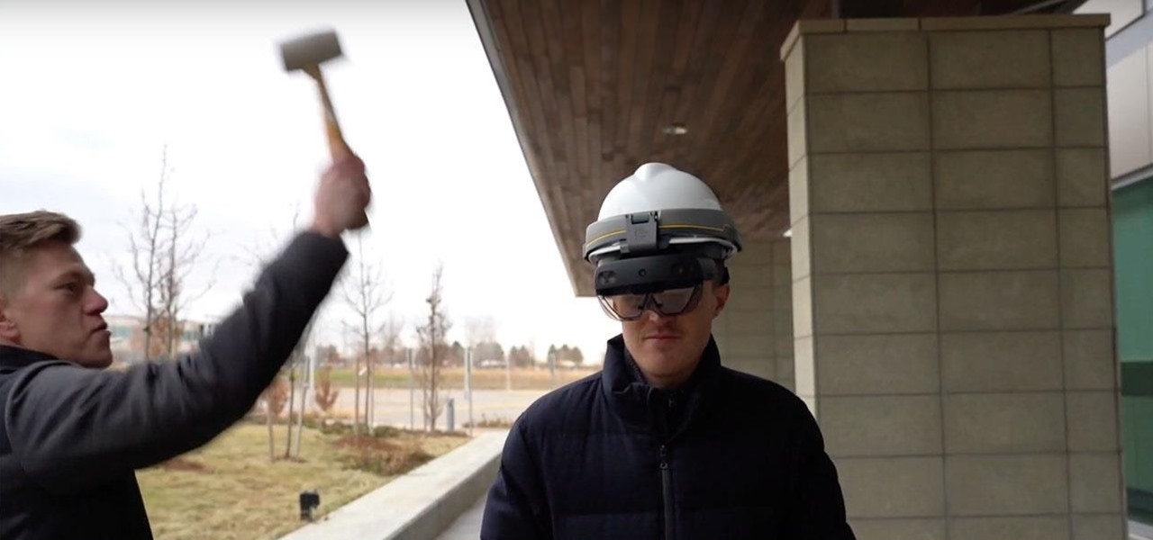 Watch Trimble Give the Microsoft HoloLens 2 the Elon Musk Tesla Cybertruck Smash Test, Sort Of
