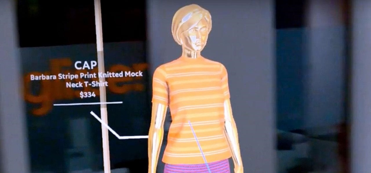 Magic Leap App Obsess Lets You Create a Fashion Store Pop-Up Nearly Anywhere