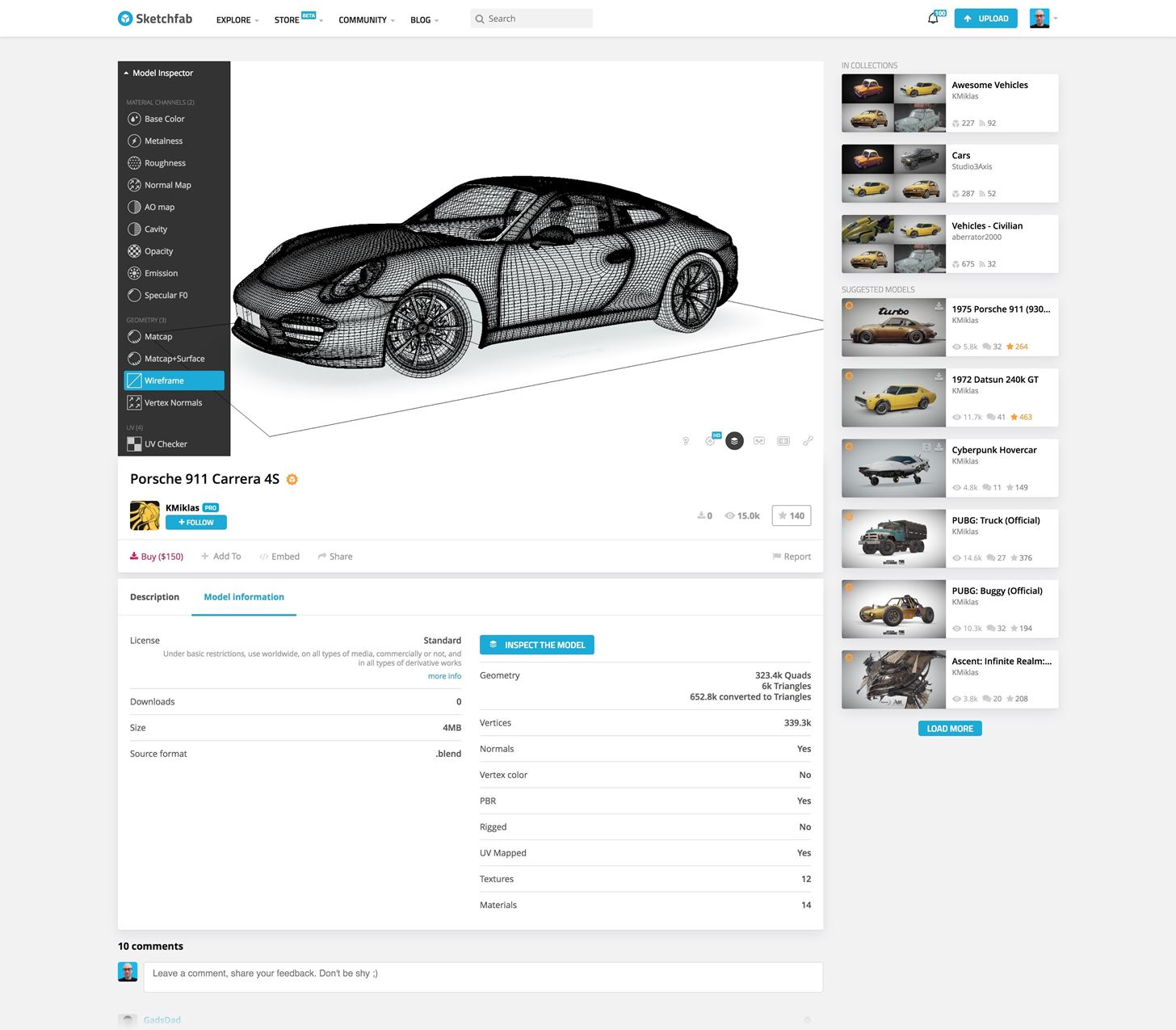 Sketchfab Launches Professional 3D Model Store for AR & VR Content Creators