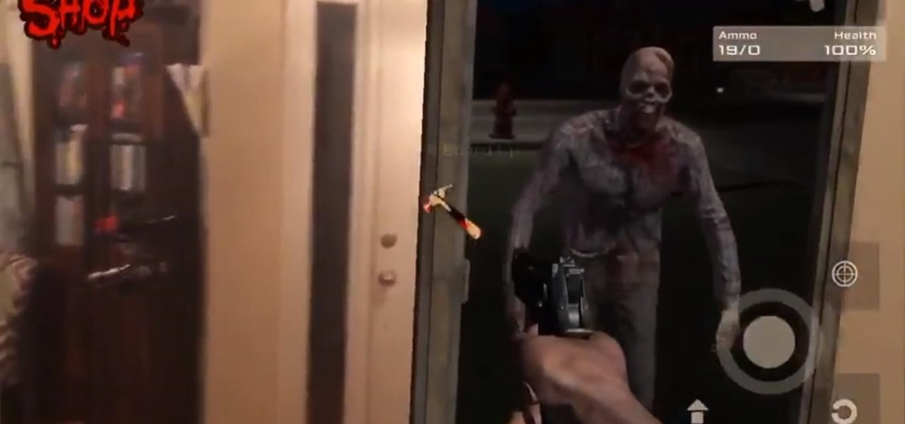 Defend Your Home from Zombies with Your iPhone