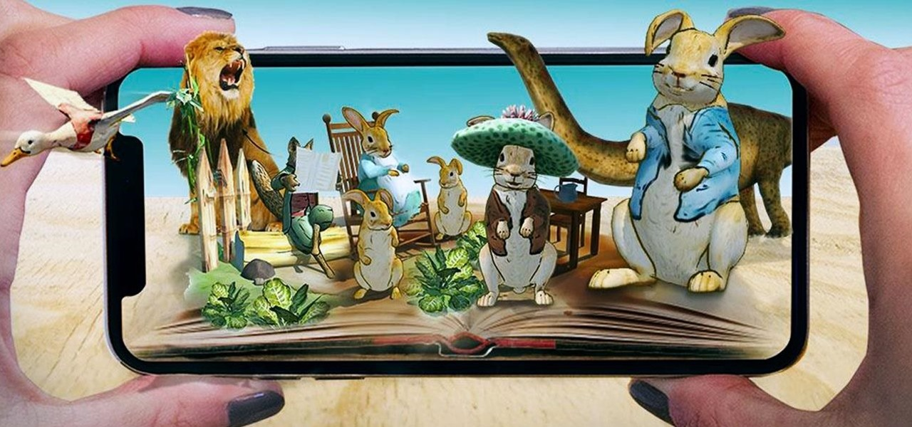 News: Children's Book Classic Peter Rabbit & Other Tales Come to AR via iOS App
