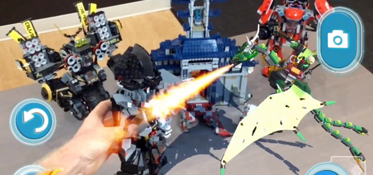 LEGO AR-Studio Will Give Kids Free Virtual Sets to Play Alongside Real LEGOs