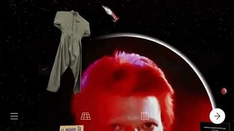 David Bowie's App provides a fascinating AR tour of the artist's career with Gary Oldman as a guide