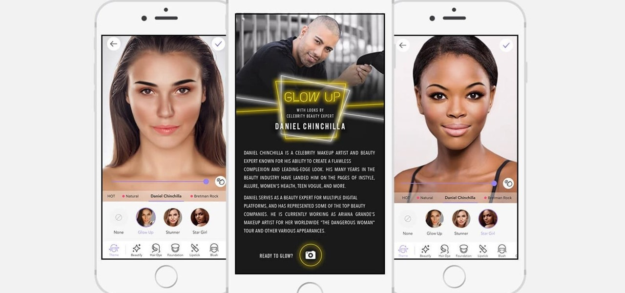 Augmented Reality Applied to Makeup, Medical & Sports Marketing
