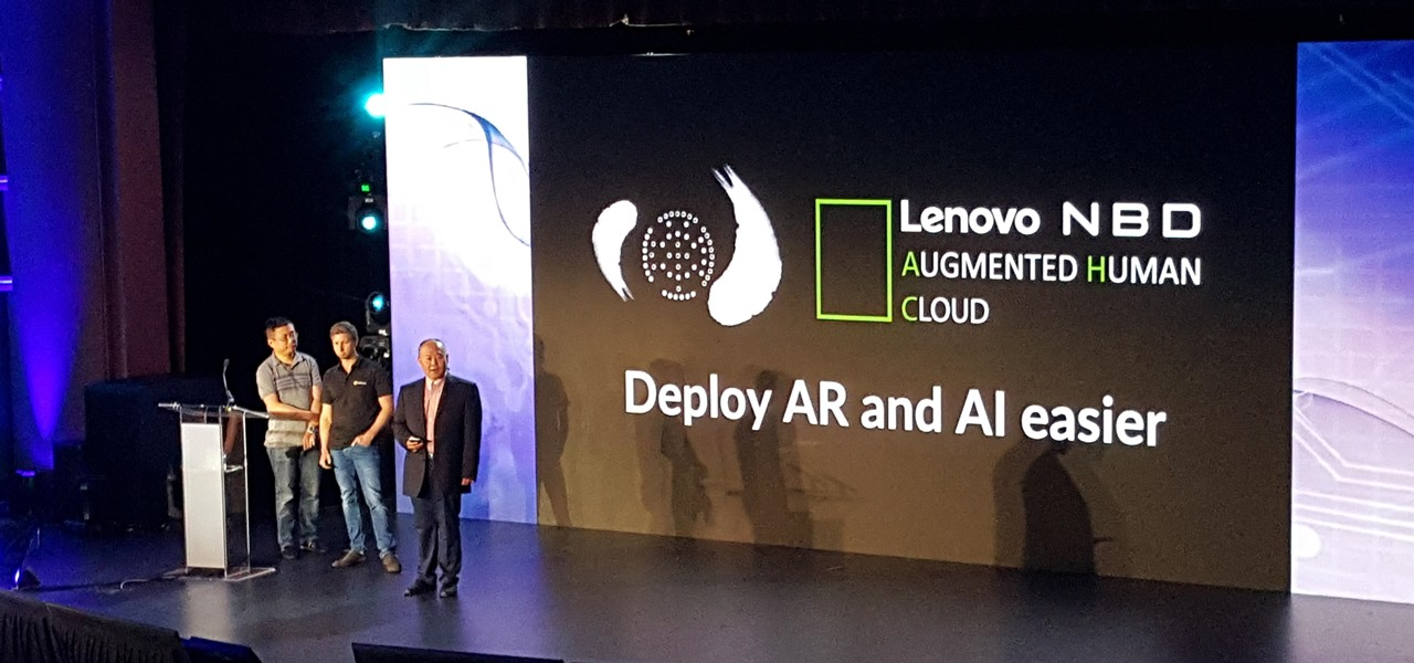 Wikitude & Lenovo Converge for Augmented Reality Cloud Platform