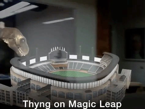 AR App Thyng Making Jump from Mobile to Magic Leap One