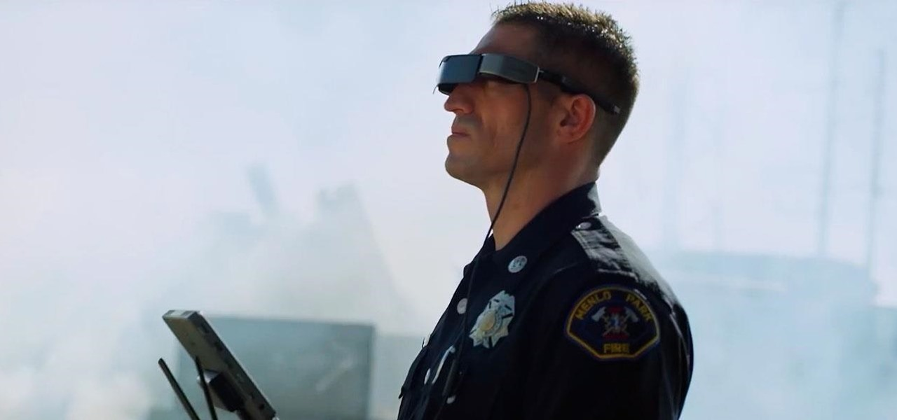 Epson & DJI Drones Give California Firefighters a Smartglasses Assist During Deadly California Wildfires