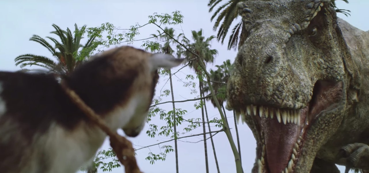 Jurassic World Alive Game Update Lets Dinosaurs Eat Goats & Destroy Vehicles in Augmented Reality