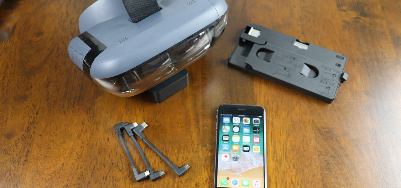 Set Up Your Phone with the Lenovo Mirage AR Headset for 'Star Wars: Jedi Challenges'