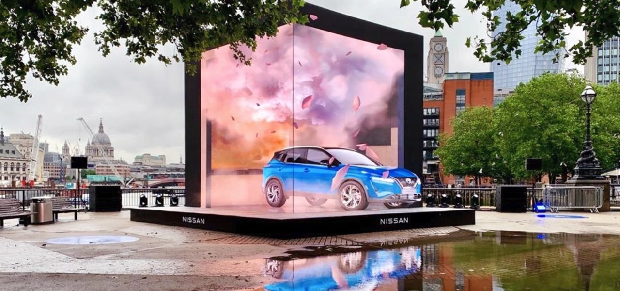 Nissan Launches 3D Car Experience on the Streets of London