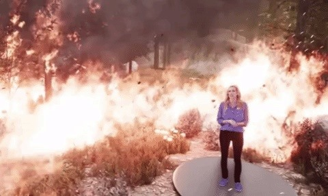The Weather Channel Takes Broadcast AR to Next Level with Wildfires Report