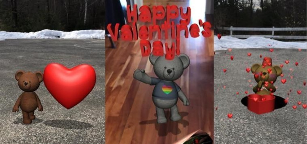 Now You Can Give Your Sweetheart an AR Valentine's Day Card