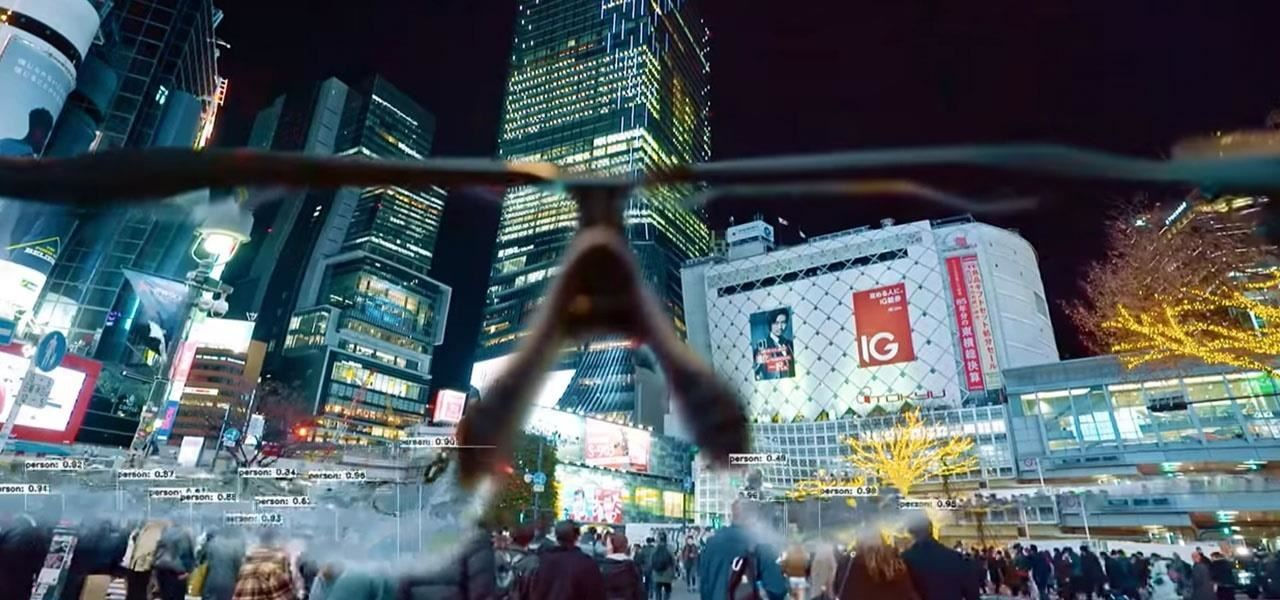 Squarepusher Music Video Layers Tokyo, Japan with Augmented Reality Through the Lenses of Concept Smartglasses