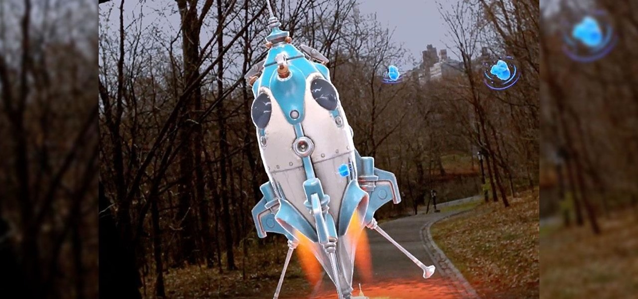 Launching Space Rockets in New York's Central Park via Magic Leap's Boosters App