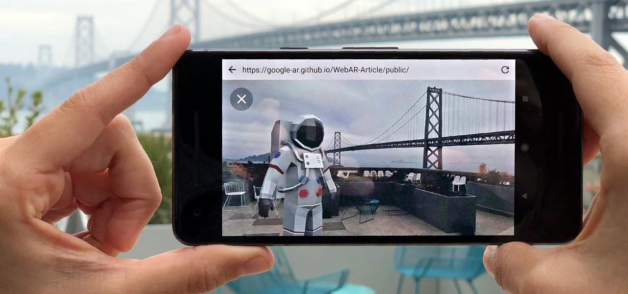 Google AR Prototype Enables 3D Model Viewing Through Web Browsers