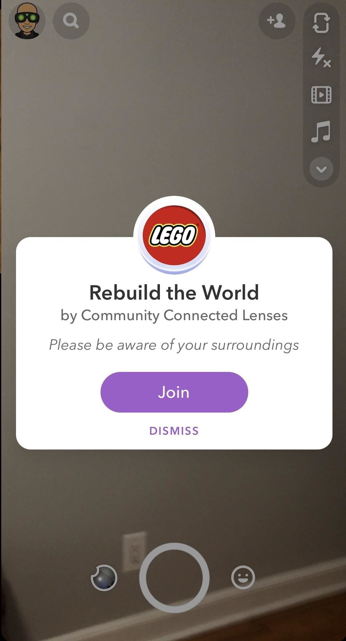 Hands-on with the Lego Snapchat Augmented Reality Experience that lets you build remotely with friends