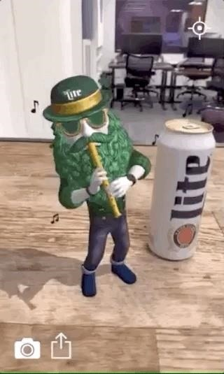 Miller Lite & Trigger Global Make St. Patrick's Day an Augmented Reality Celebration