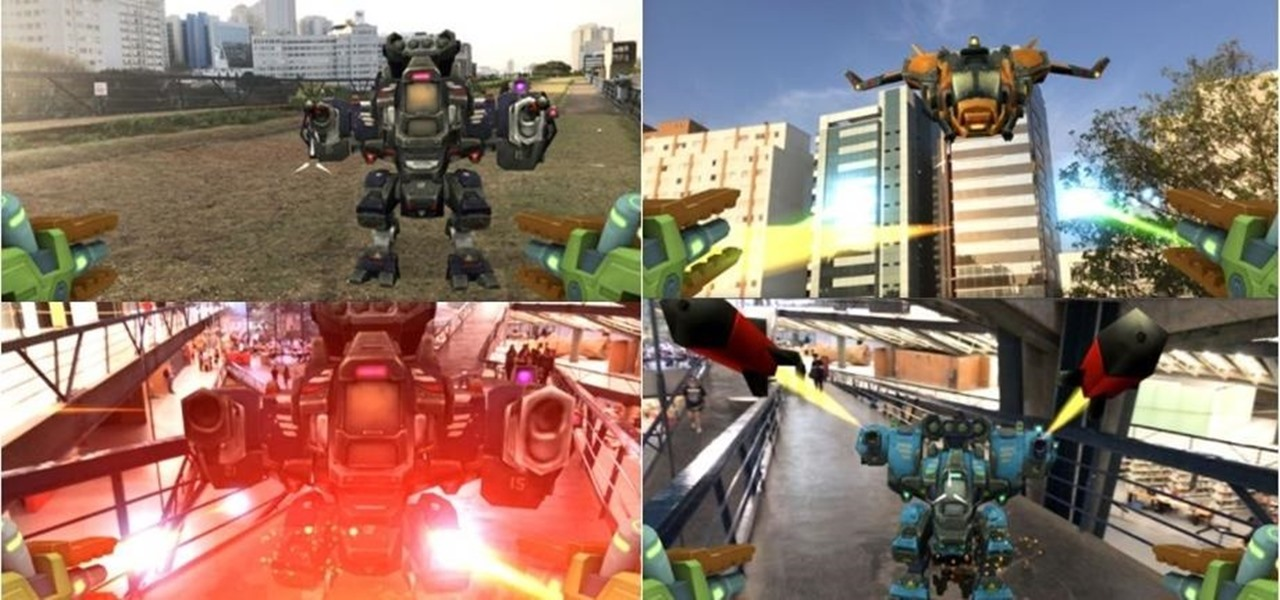 Army of Robots Enlists ARKit for First-Person Shooter