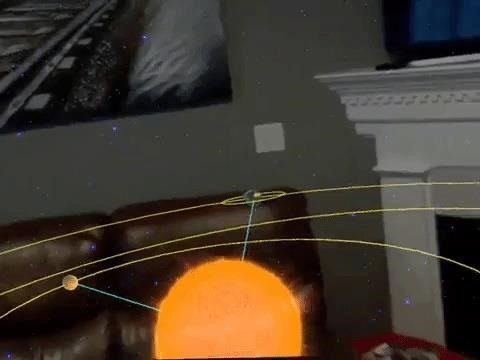 Stage Your Own Big Bang with Magic Leap One via the Universe Creator App