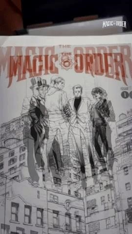 Netflix Casts a Facebook AR Spell on Its Debut Comic Book 'The Magic Order'