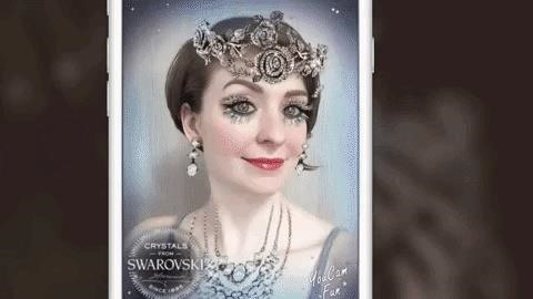 Swarovski & Other Retailers Try Using Augmented Reality to Lure Holiday Shoppers to Stores