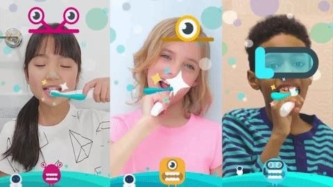 Tech Toothbrush from Samsung Incubator Graduate Uses AR to Help Kids Improve Brushing Habits