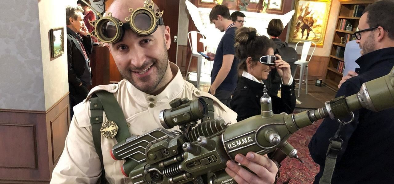 Hands-On with Magic Leap & Weta Workshop's Dr. Grordbort's Invaders