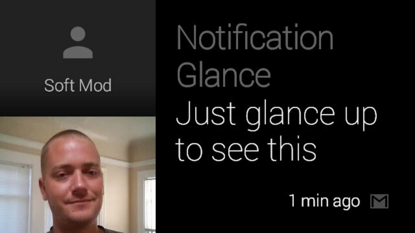 How to Use Notification Glance on Google Glass