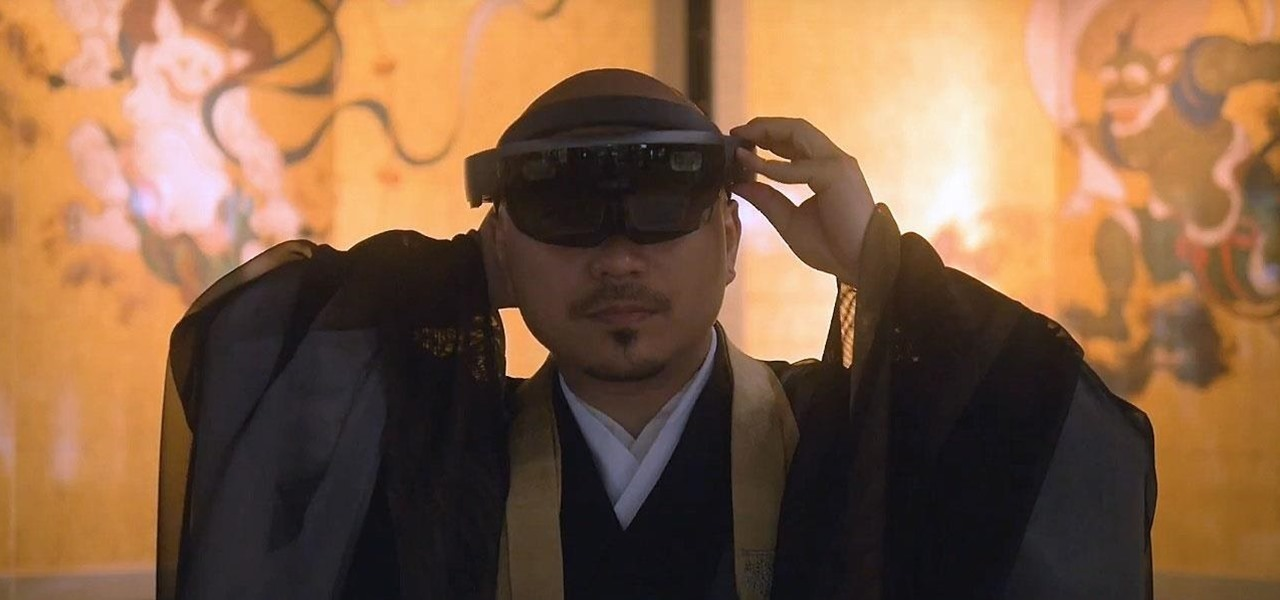 Microsoft's HoloLens Transports One of Japan's Oldest Temples into the Future in Kyoto