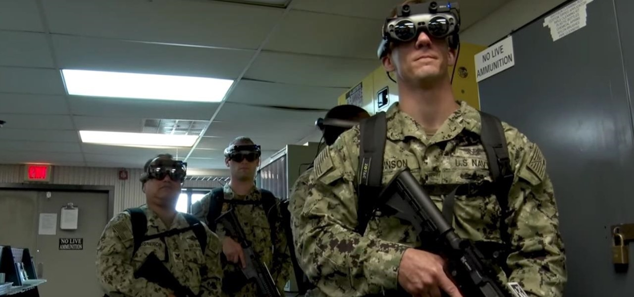 US Navy Using Magic Leap AR Technology to Improve Warfare Training