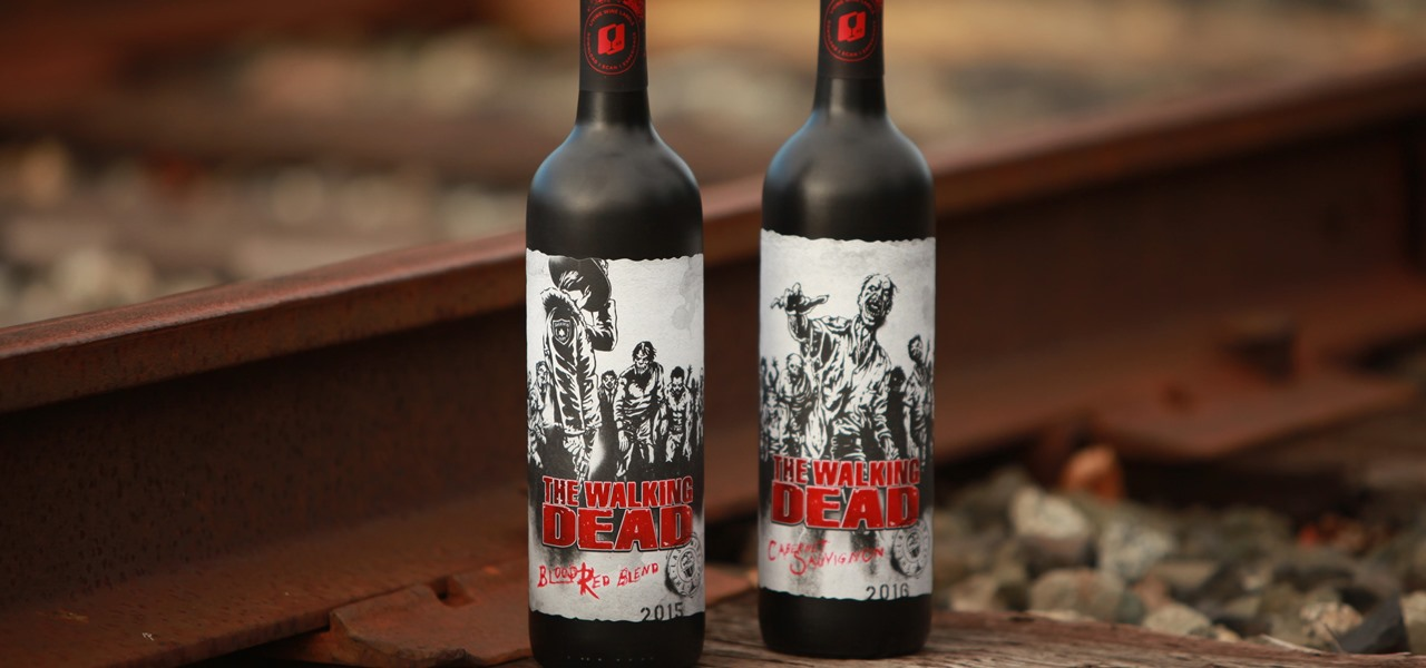 'The Walking Dead' Mixes Augmented Reality & Wine to Keep You Alive Between Episodes