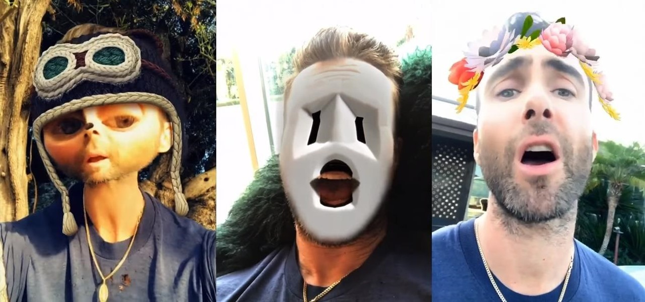Maroon 5 Dives into Augmented Reality with Music Video Created Entirely in Snapchat