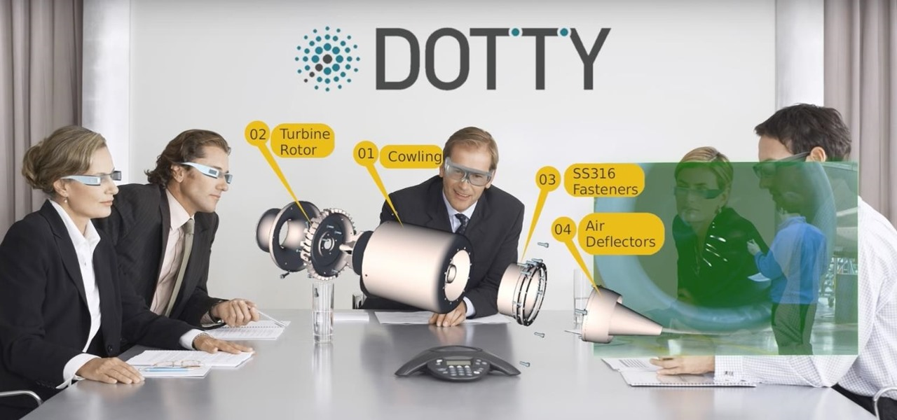 DottyAR Lets You View 3D Models on Smartphones & Coming Soon to ODG Smartglasses