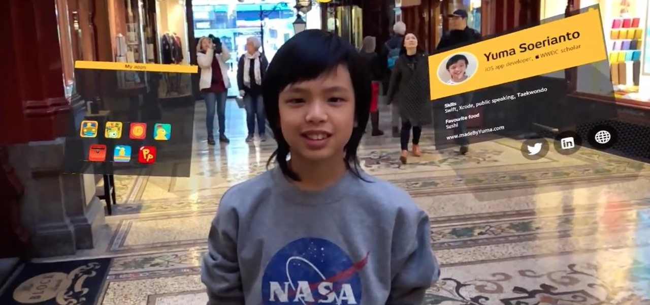 Young Developers Are the Future of AR — This 11-Year-Old Has Already Created 2 AR Apps