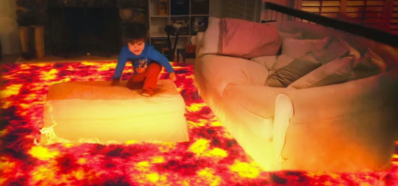 The Floor Is Actually Lava on the Microsoft HoloLens